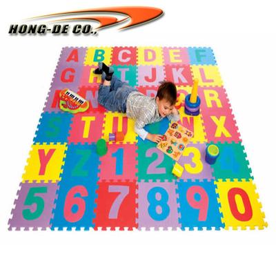 Non-toxic Children puzzle mat EVA foam
