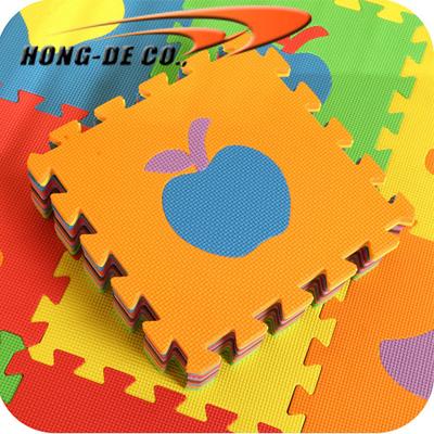 Non-toxic Fruit Puzzle Mat