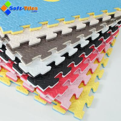 Double Colour Mat Sport Reversible EVA mat High Density