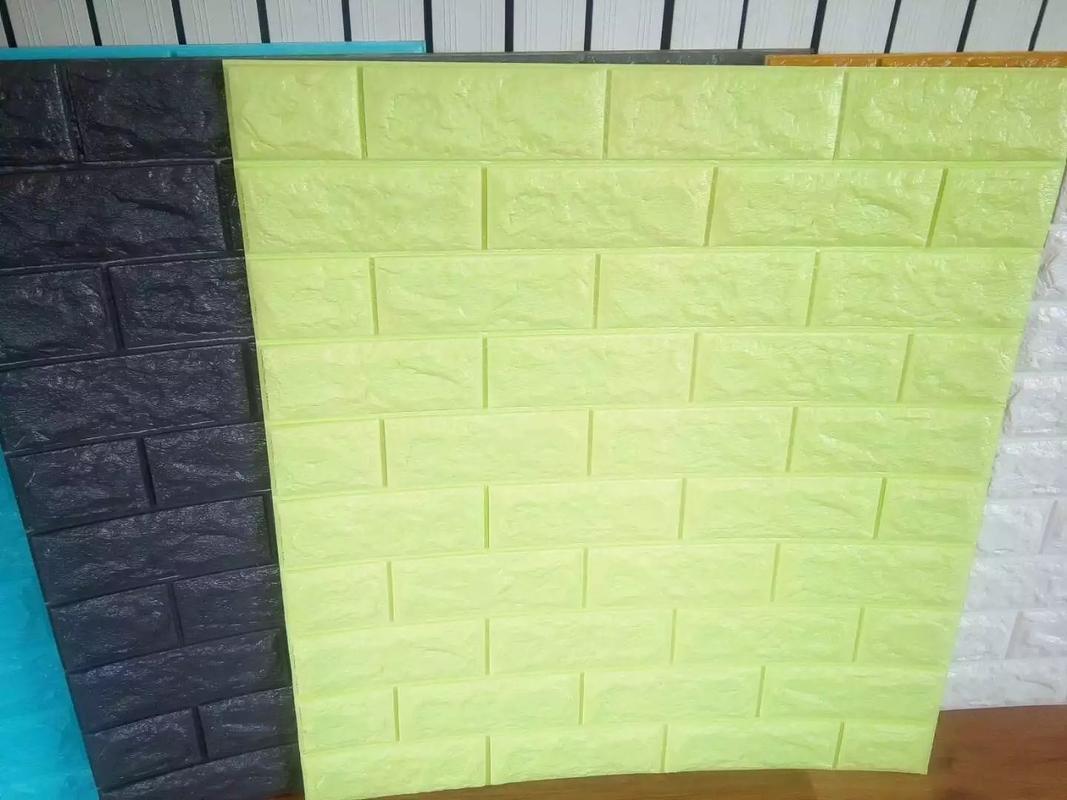 Pe Foam 3d Brick Self Adhesive Decorative Acoustic Wallpaper
