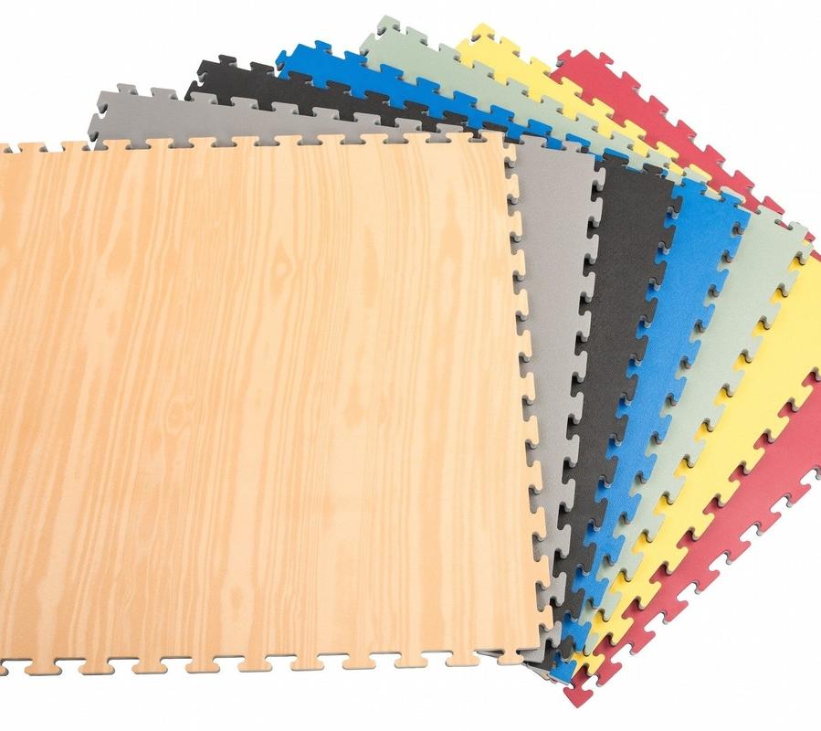 High Density 100% EVA Foam Taekwondo mat 1*1m with 30mm